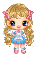 Lolita Blossom Pixel Doll by HeadyMcDodd