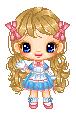 Lolita Blossom Pixel Doll by HeadyMcDodd
