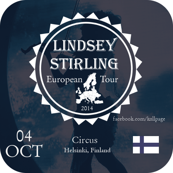 Lindsey Stirling 04-10 Circus - Helsinki by MrArinn