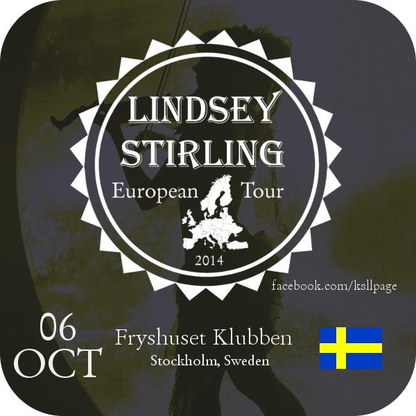 Lindsey Stirling 06-10 Fryshusetklubben -Stockholm by MrArinn