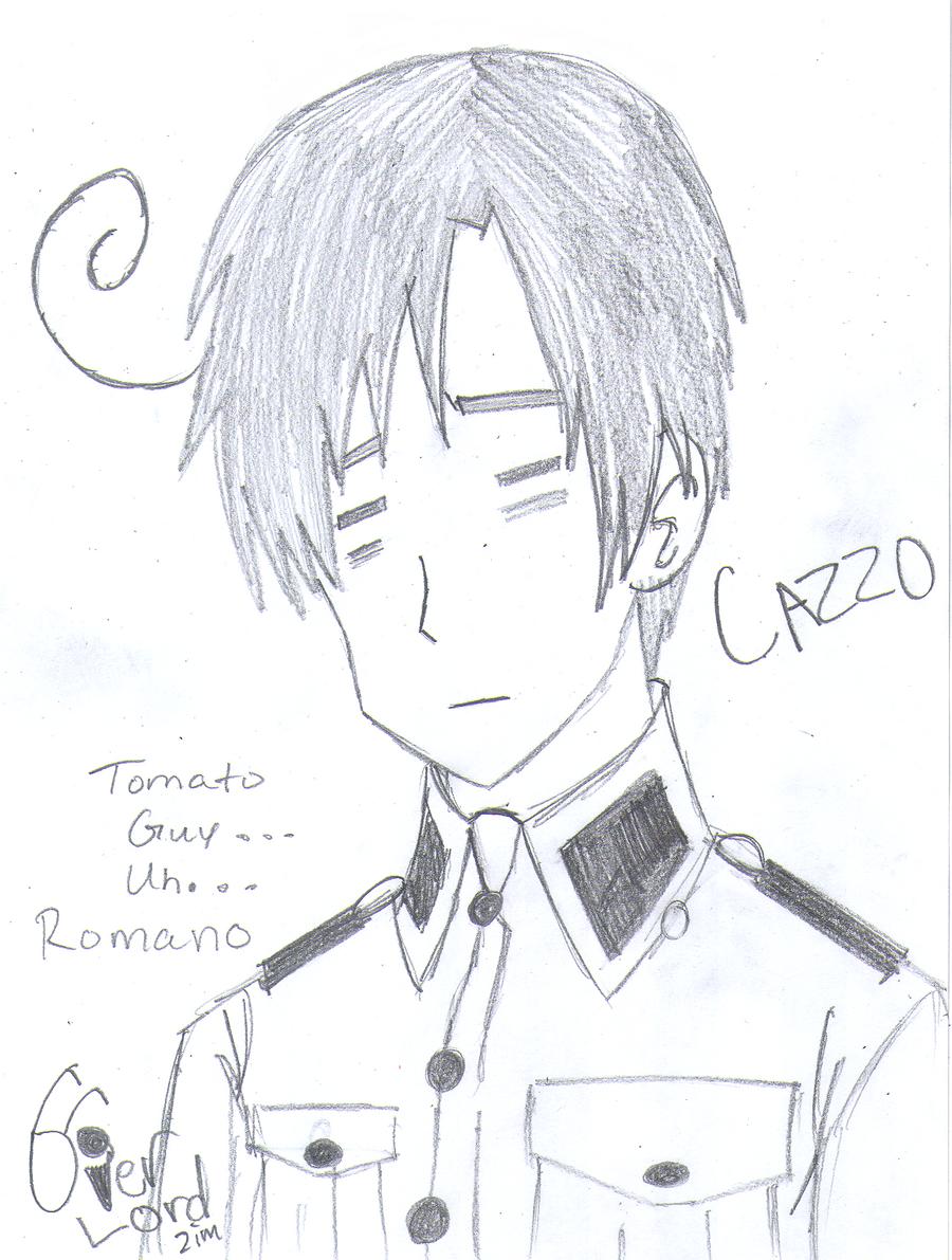 Story Art - Romano by AskOverlordZim