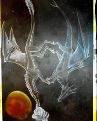 Dragons in love by Klau--Lion-Heart