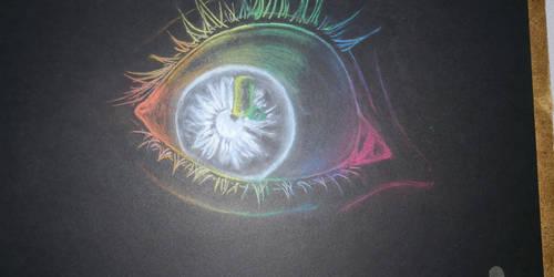 Rainbow eye by Klau--Lion-Heart