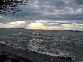 2018 summer at the lake of Balaton 01 by Klau--Lion-Heart