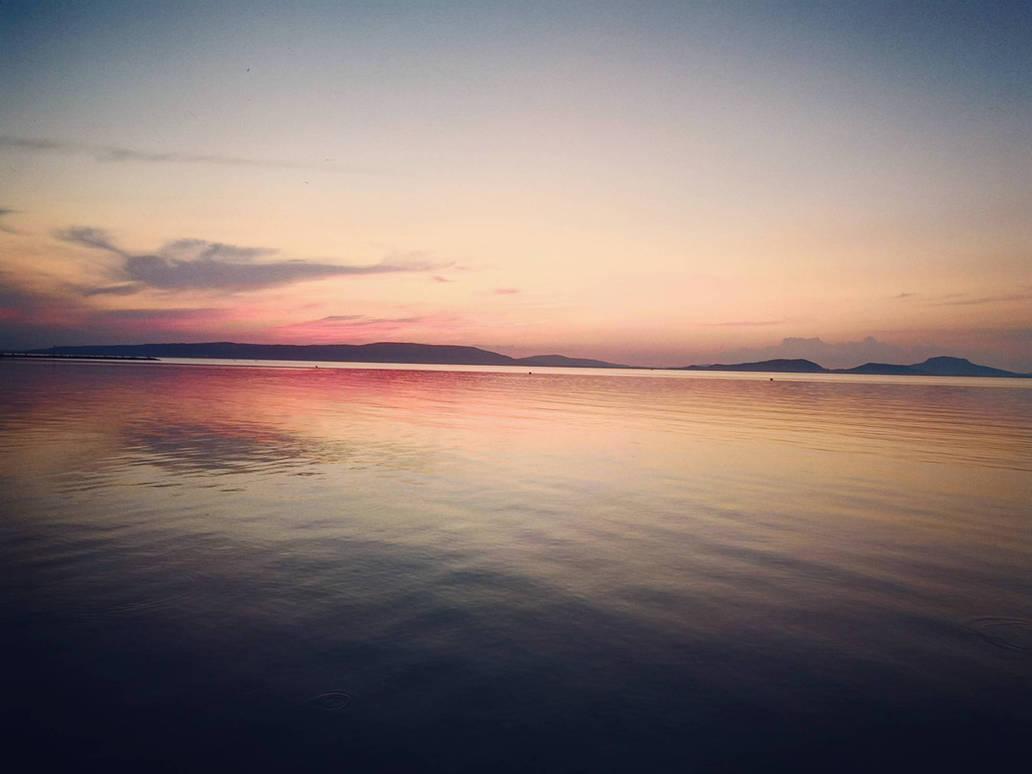2018 summer at the lake of Balaton 02 by Klau--Lion-Heart
