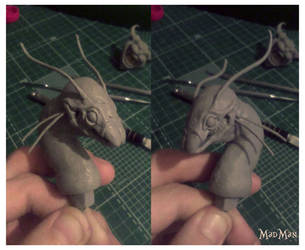 American Mcgee's Jabberwocky WIP by LuckyKrusky