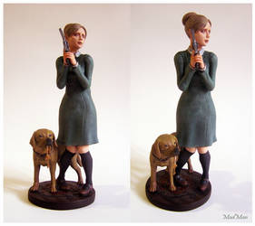 Rule of Rose - Jennifer and Brown statue