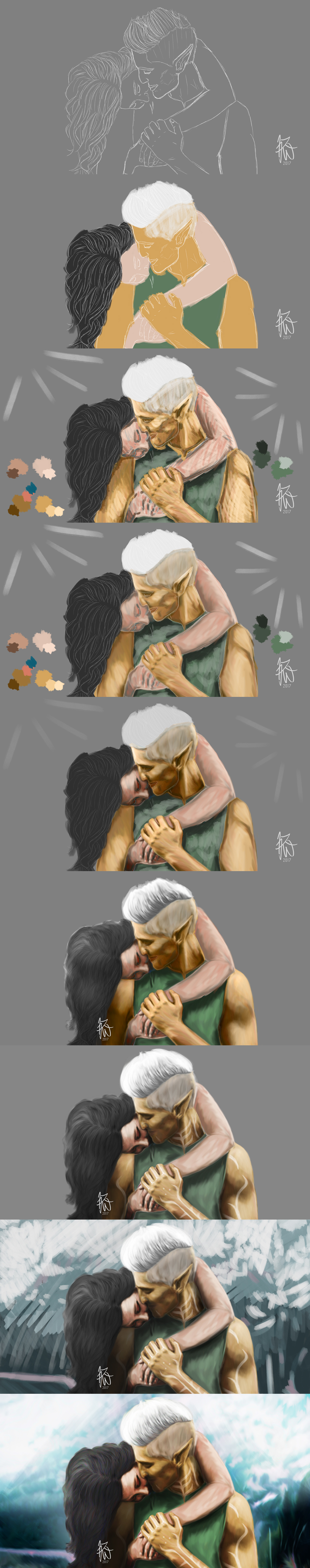 Affection - WIP by Auridesion