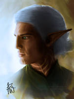 Fenris Profile - Tied Back by Auridesion