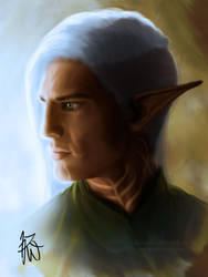 Fenris Profile - Long Undercut by Auridesion