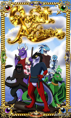 Quest for Arriena Cover