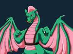 Dulcy the Dragon by WeirdoFish