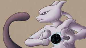 Mewtwo uses Shadow Ball