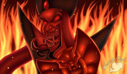 Snek-ish Jafar by WeirdoFish