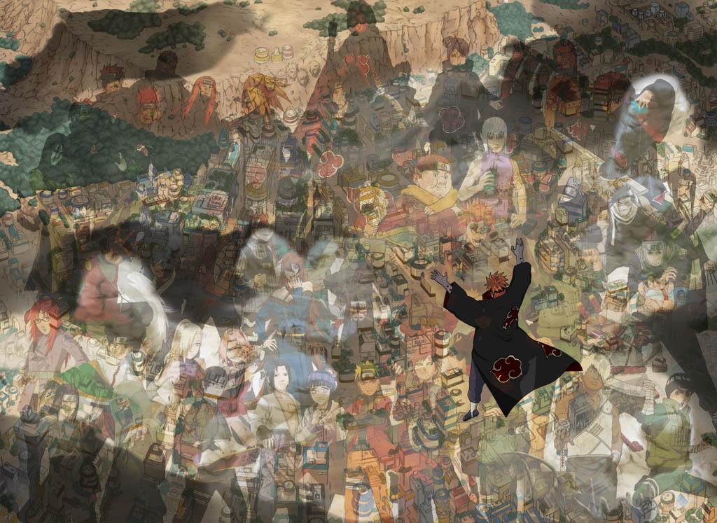 Konoha Village Png Deviantart: Naruto (Konoha Village) By RishavSharma On DeviantArt