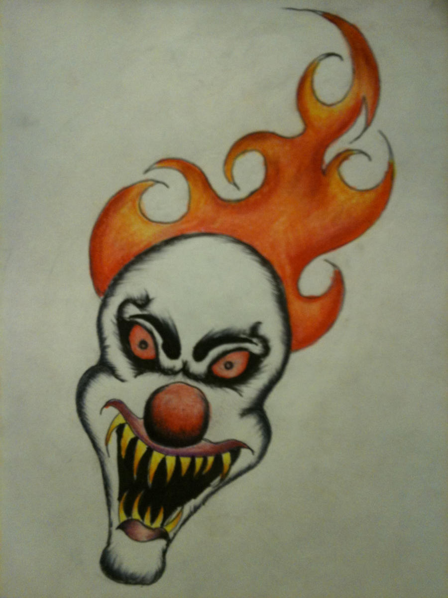 scary clown oh scary clown by shawn6864 on deviantart