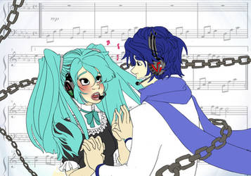 Vocaloid - Huhuhu by Miberry
