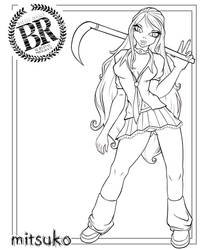 Mitsuko - Battle Royale