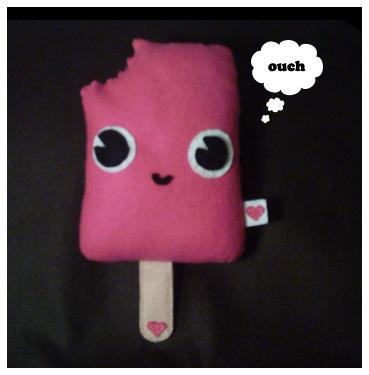 Strawberry Lollipop Plush