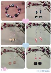 More Cafe Kawaii Jewelery
