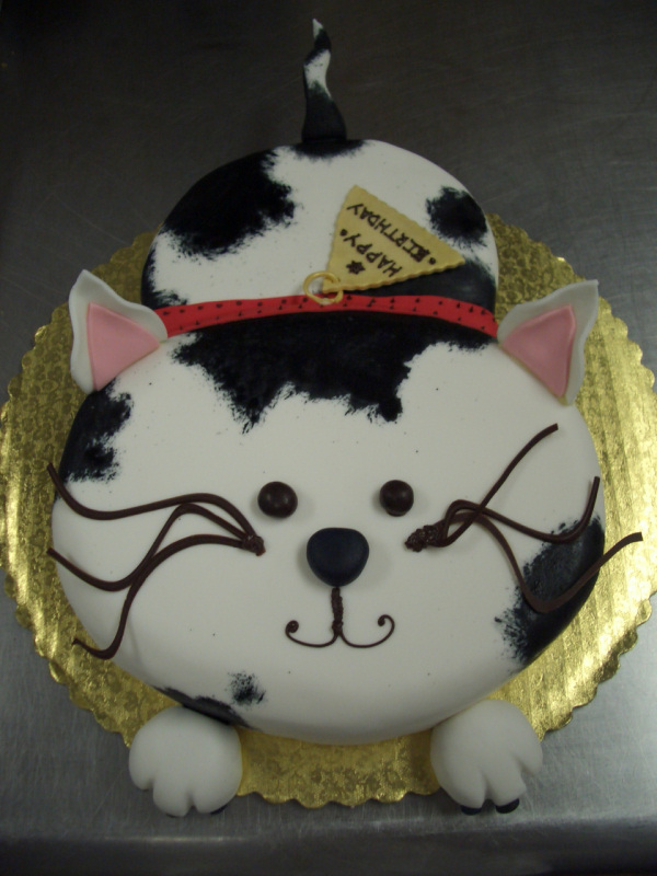 how to make a cow birthday cake