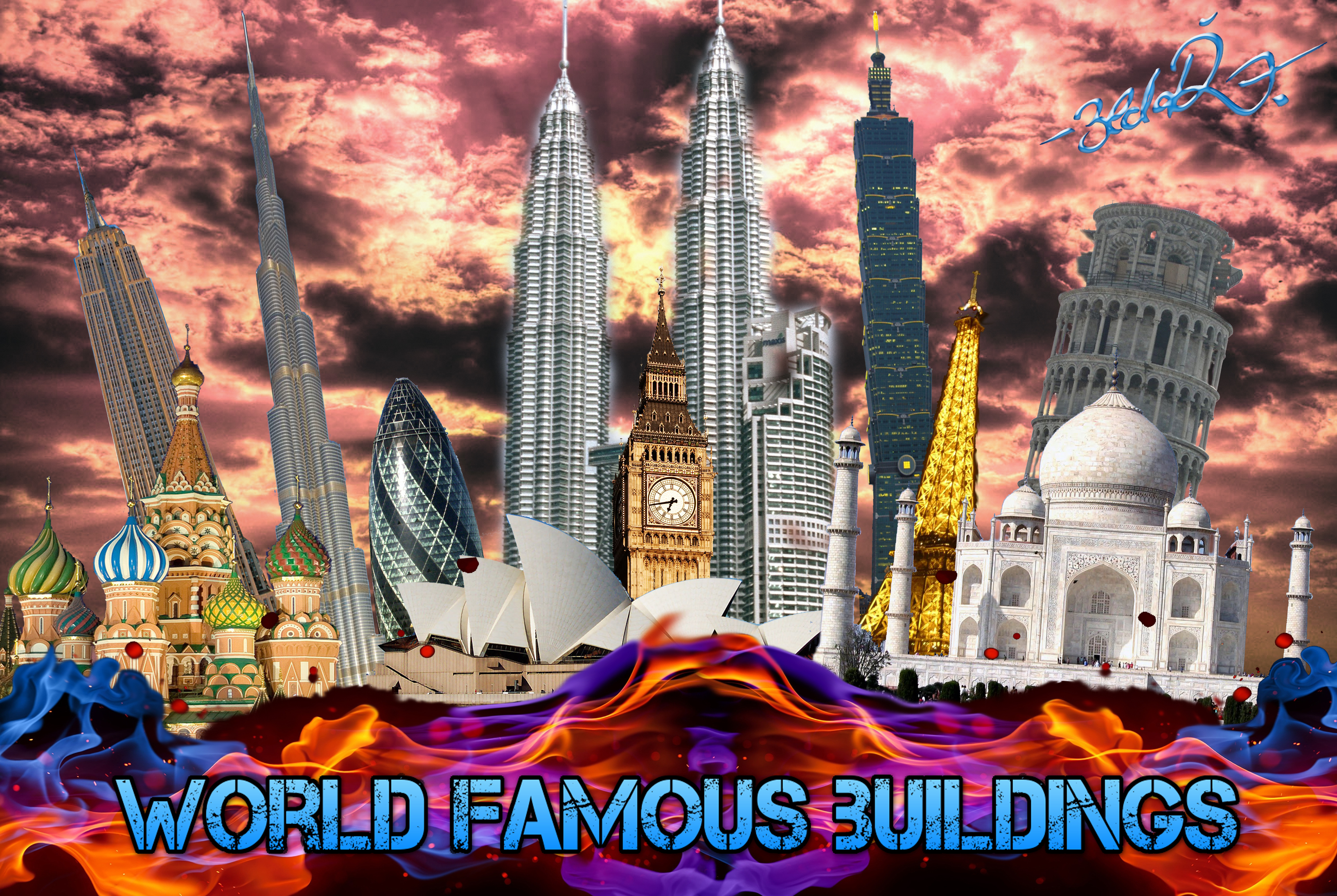 World Famous Images World Famous Buildings by
