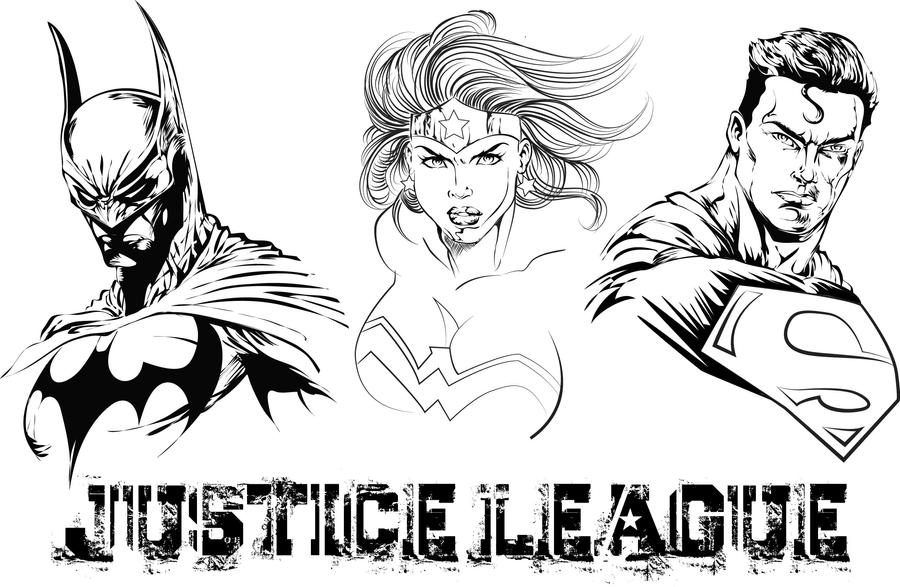 Justice League New 52 Coloring Pages | Gallery