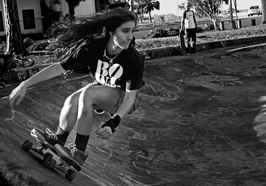 Skater Girl by KAL1MAR1 ...