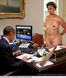 Mrs Obama by lizard68
