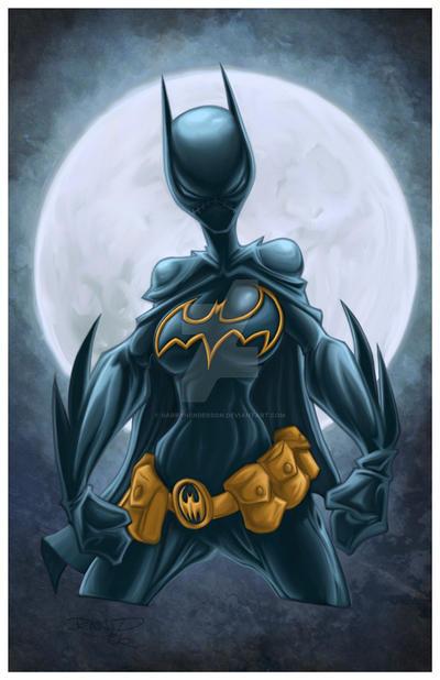 Batgirl by GarryHenderson