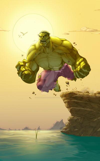 RAHeight's Hulk by GarryHenderson