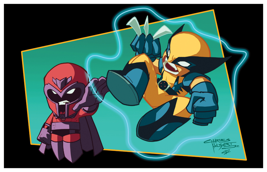 Wolverine vs Magneto by GarryHenderson