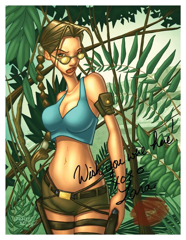 Lara Croft by GarryHenderson