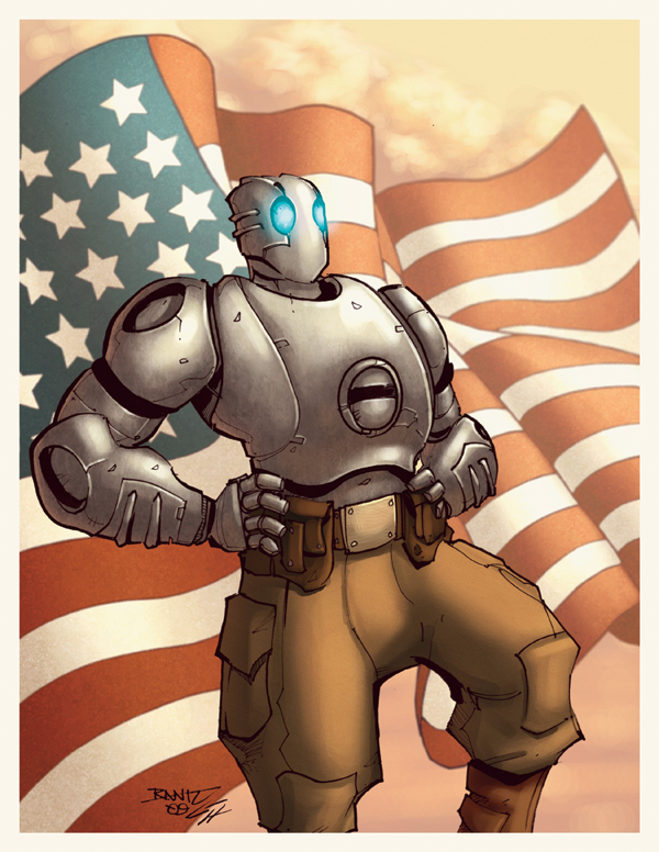 Robo the Atomic by GarryHenderson
