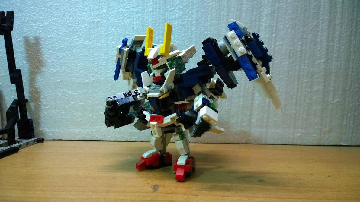 LEGO SD 00 Gundam GN-0000 by demon14082000