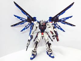 LEGO Freedom Gundam ZGMF-X10A by demon14082000