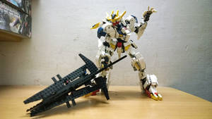 LEGO Gundam Barbatos Lupus Rex 1-60 by demon14082000