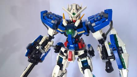 LEGO Gundam Exia GN-001 by demon14082000