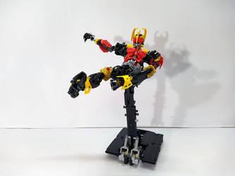 LEGO Kamen Rider Kuuga - Rider Kick by demon14082000