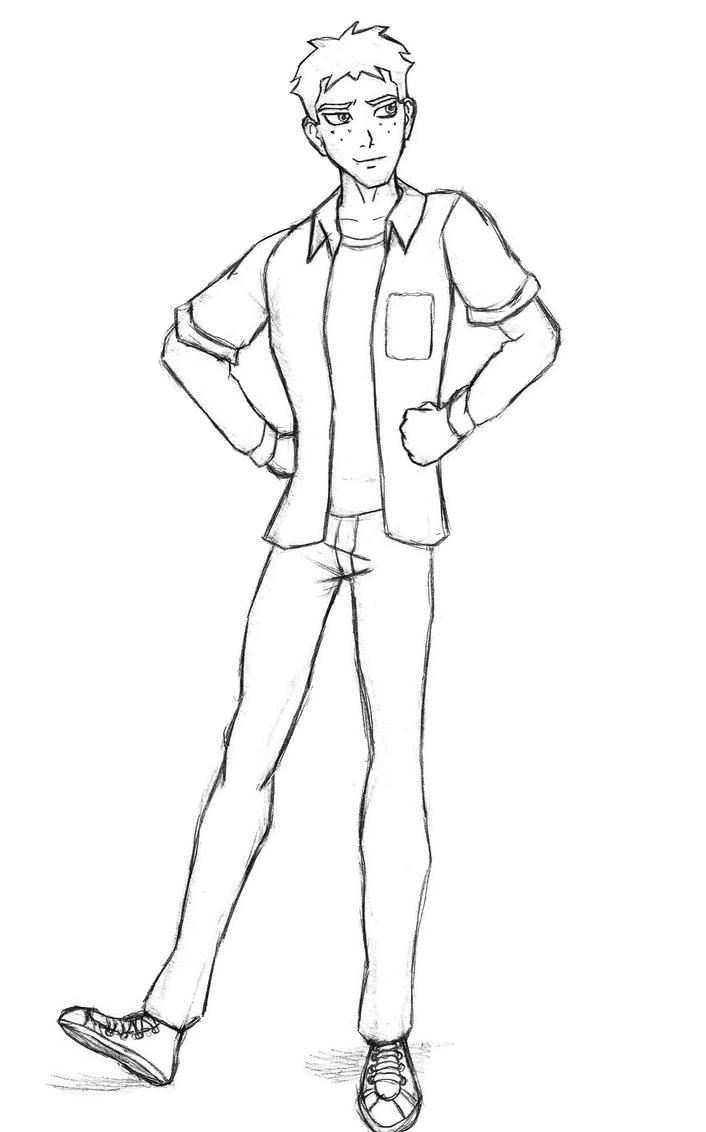 Wally West Civis By Dcfangirl On Deviantart Justice Superboy Coloring Pages Free
