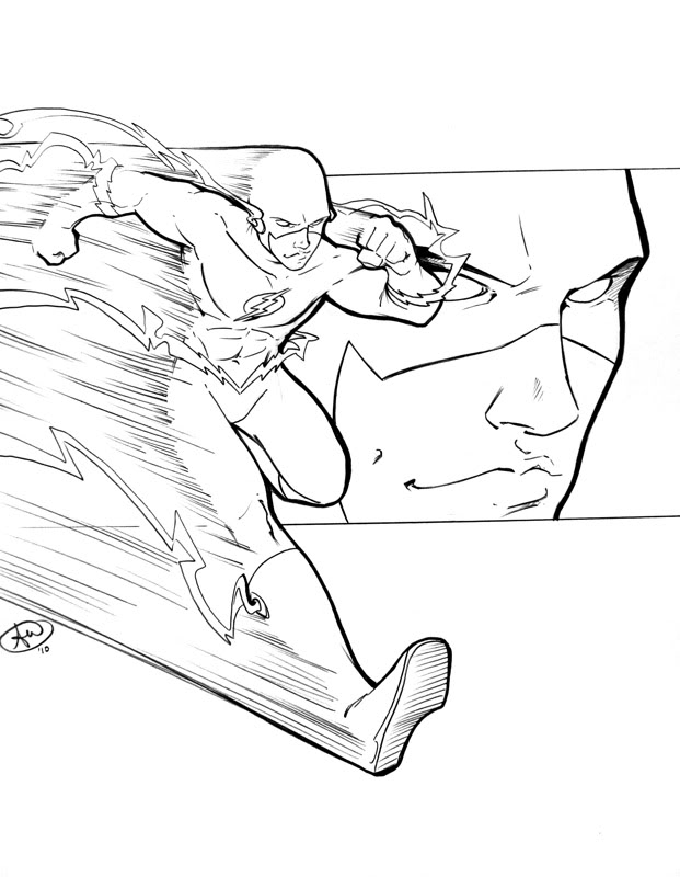 Les images du net - Page 3 Flash_c2e2_sketch_by_AdamWithers