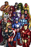 Avengers by AdamWithers