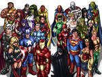 Avengers-Justice League Duo
