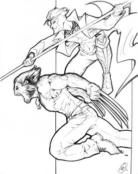 Logan and Gambit