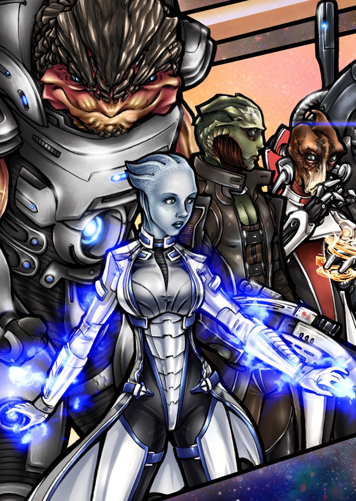 Mass Effect Detail 2 by AdamWithers
