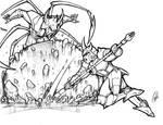Ronin Warriors: Kento and Dais