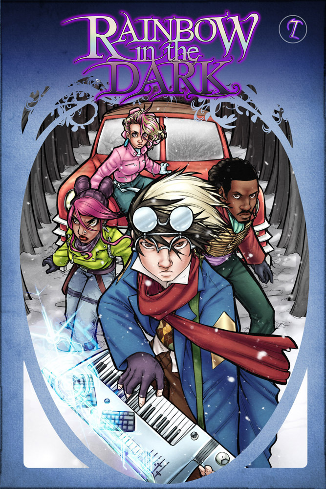 Rainbow in the Dark 7 Cover by AdamWithers