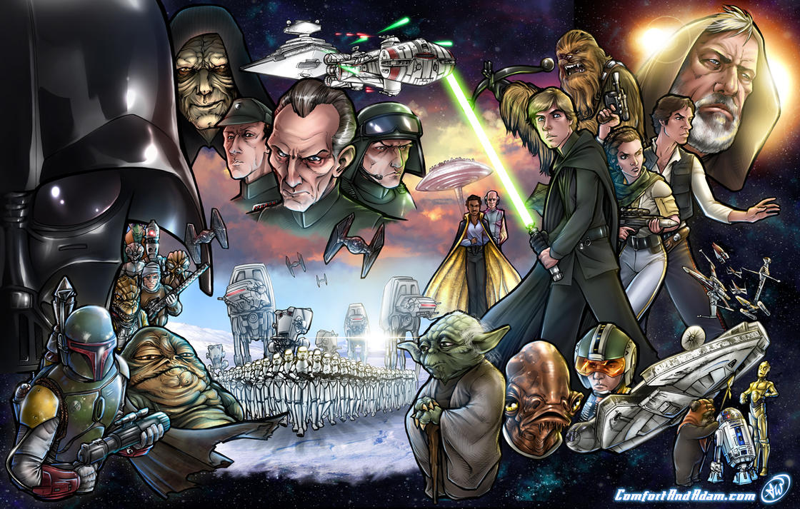 star wars by adamwithers on deviantart