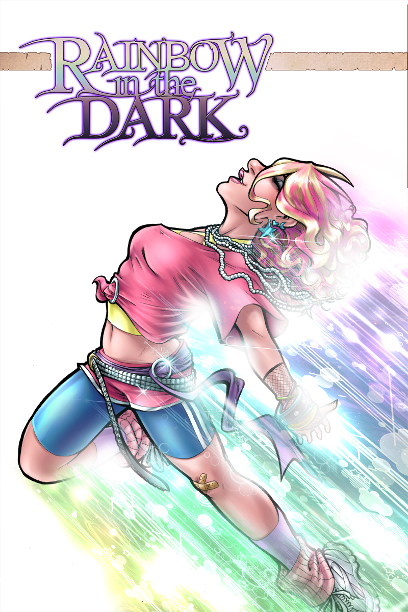 Rainbow in the Dark vol3 Cover by AdamWithers
