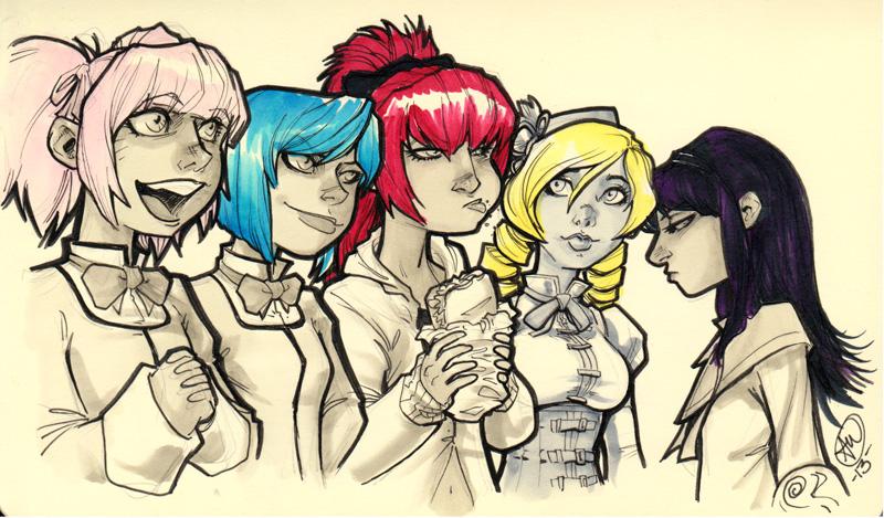 Team Madoka by AdamWithers